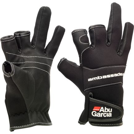Abu Garcia Neoprene Gloves #XL