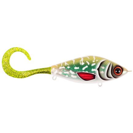 Strike Pro Guppie Junior Glitter Pike Green/Gold Glitter 11cm/70g