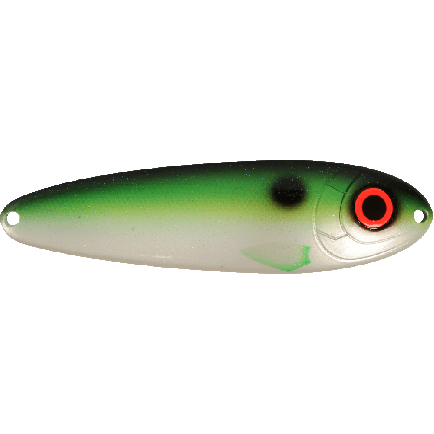 Strike Pro Buster Spoon 500F Rugen Shad/Silver 14cm/45g