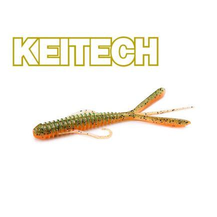 "Keitech 3"" Hog Impact Fire Tiger  7cm/1g/12pcs"
