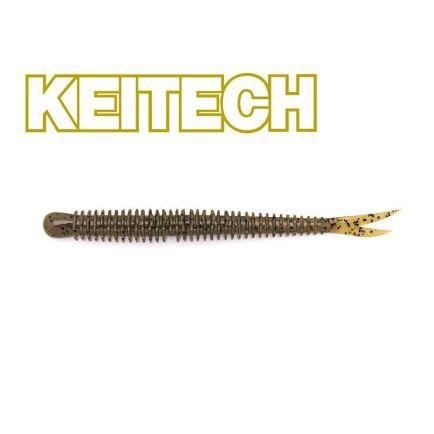 "Keitech 3"" Live Impact Green Pumpkin PP 8cm/2g/12pcs"