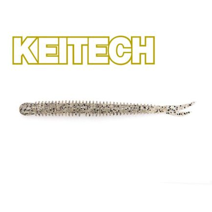 "Keitech 3"" Live Impact Silver Shad 8cm/2g/12pcs"