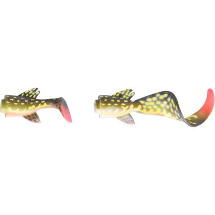 Savage Gear 3D Hybrid Pike Spare Tail Kit Yellow Pike 17cm
