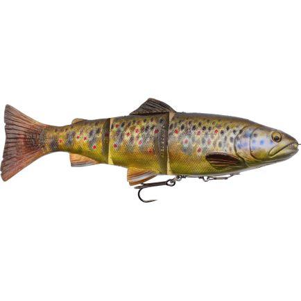 Savage Gear 4D Line Thru Trout Dark Brown Trout 20cm/93g