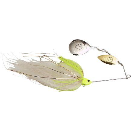 Savage Gear Da 'Mega Bush Spinnerbait #8/6+#4 White Chartreuse 21cm/55g