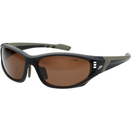 Scierra Wrap Arround Ventilation Sunglasses Brown Lens