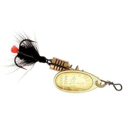 Mepps Aglia Mouche Gold/Black Tail #2 / 4.6g
