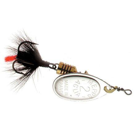 Mepps Aglia Mouche Silver/Black Tail #2 / 4.6g
