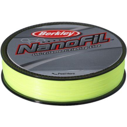 Berkley Nanofil 0.20 Hi-Vis Chartreuse 0.19287mm/12.649kg/125m