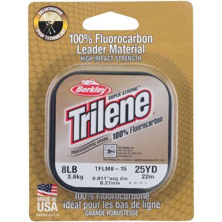 Berkley Trilene 100% Fluorocarbon Leader Clear 0.30mm/7.0kg/25m