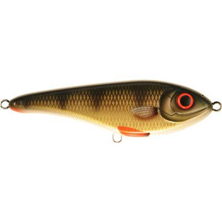 Strike Pro Buster Jerk Shallow Runner C382 Golden Perch 15cm/64.5g