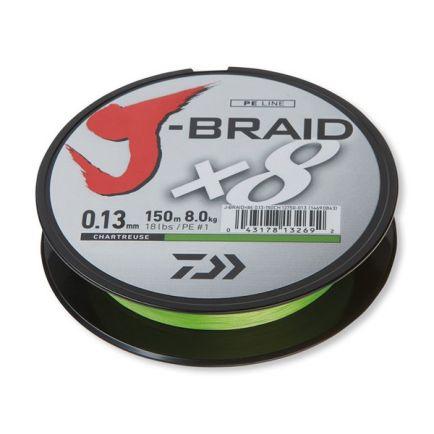 DAIWA J-Braid X8 Chartreuse 0.18mm/12kg/150m