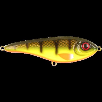 Strike Pro Buster Jerk II C664 Hot Baitfish 12cm/37g