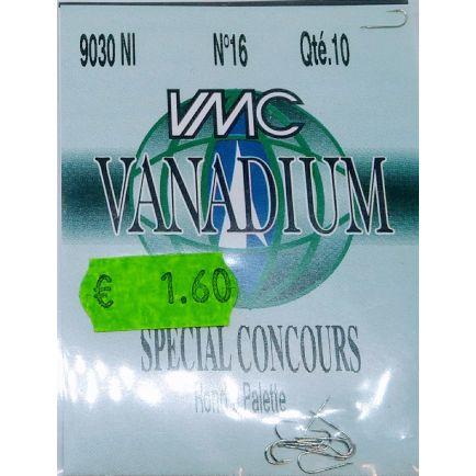 VMC Vanadiium hooks 9030 No 16/10pcs