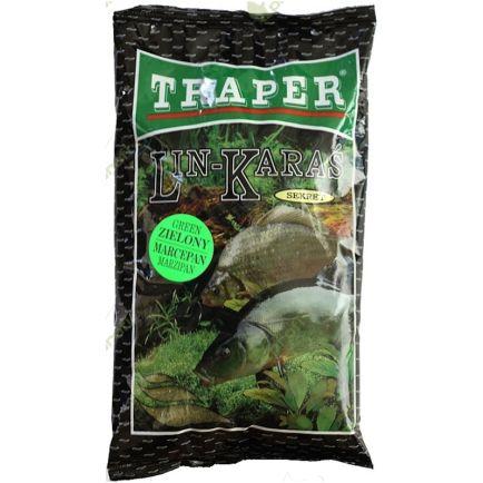 Traper Peibutussööt Sekret Linask-Koger Roheline Martsipan 1kg