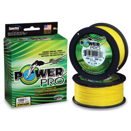 PowerPro Hi-Vis Yellow 0.13mm/8.0kg/135m