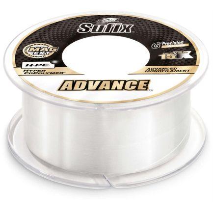 Sufix Advance Monofilament Clear 0.25mm/6.1kg/150m