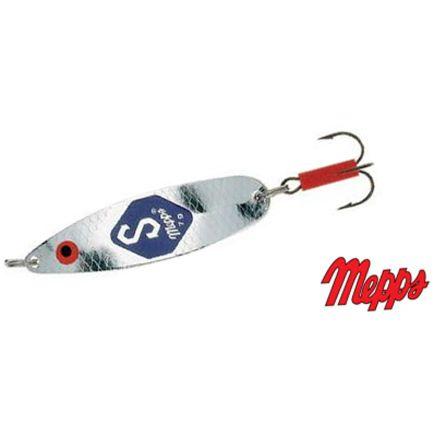 """Mepps Syclops """"S"""" Light Silver #3/9cm/15g"""