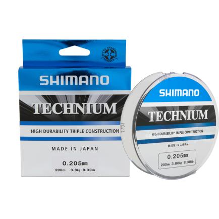 Shimano Technium Grey 0.25mm/6.10kg/200m
